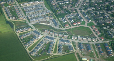Rieshout luchtfoto