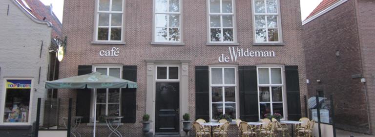 Gevel renovatie cafe de Wildeman